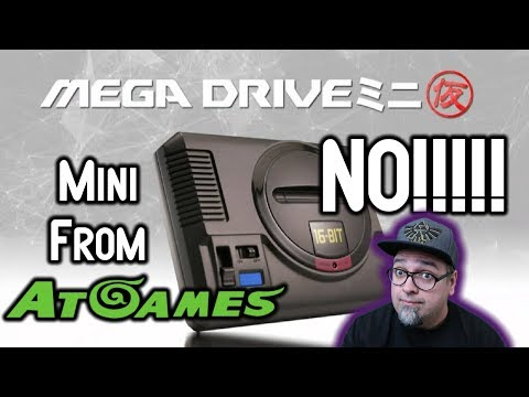 AtGames Is Making The Sega Genesis Mega Drive Mini! NO!!!!! WHY SEGA!? WHY?! thumbnail