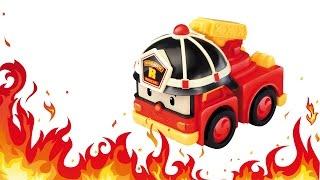 Пожарная машина в городе Лего. Развивающий мультфильм