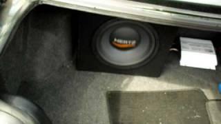 Hertz ES 300 subwoofer test