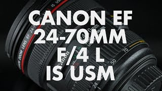 Lens Data - Canon EF 24-70mm f/4 L IS USM Review