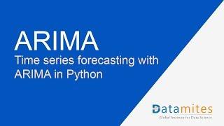 ARIMA in Python - tijdreeksen Voorspellingen Deel 2 - Datamites Data Science Projecten
