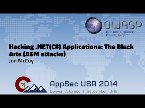 Hacking .NET(C#) Applications: The Black Arts (ASM attacks)
