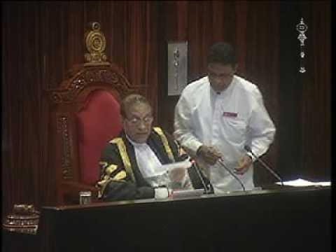 Parliament of Sri Lanka - 26 August 2016 Part 1