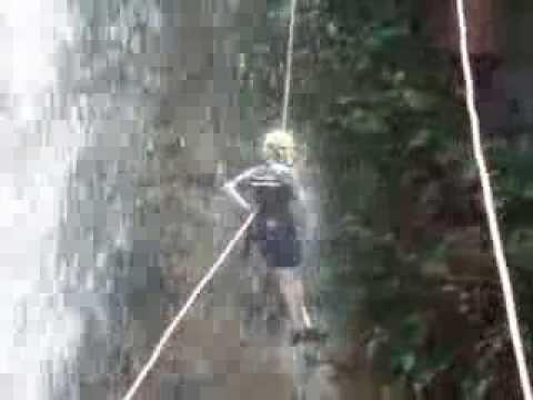 Canionismo Cachoeira 3 quedas em Brotas