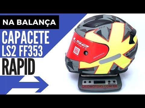 hqdefault - Conheça o Capacete LS2 Rapid FF353