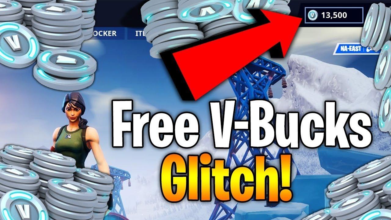 v bucks glitch fortnite xbox