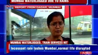 Rains bring Mumbai to a grinding halt : Mumbai Rains