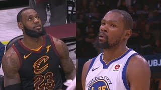 Kevin Durant RIPS THE HEART Out Of LeBron James And Entire Cavaliers Crowd With Cold Blooded Shot!