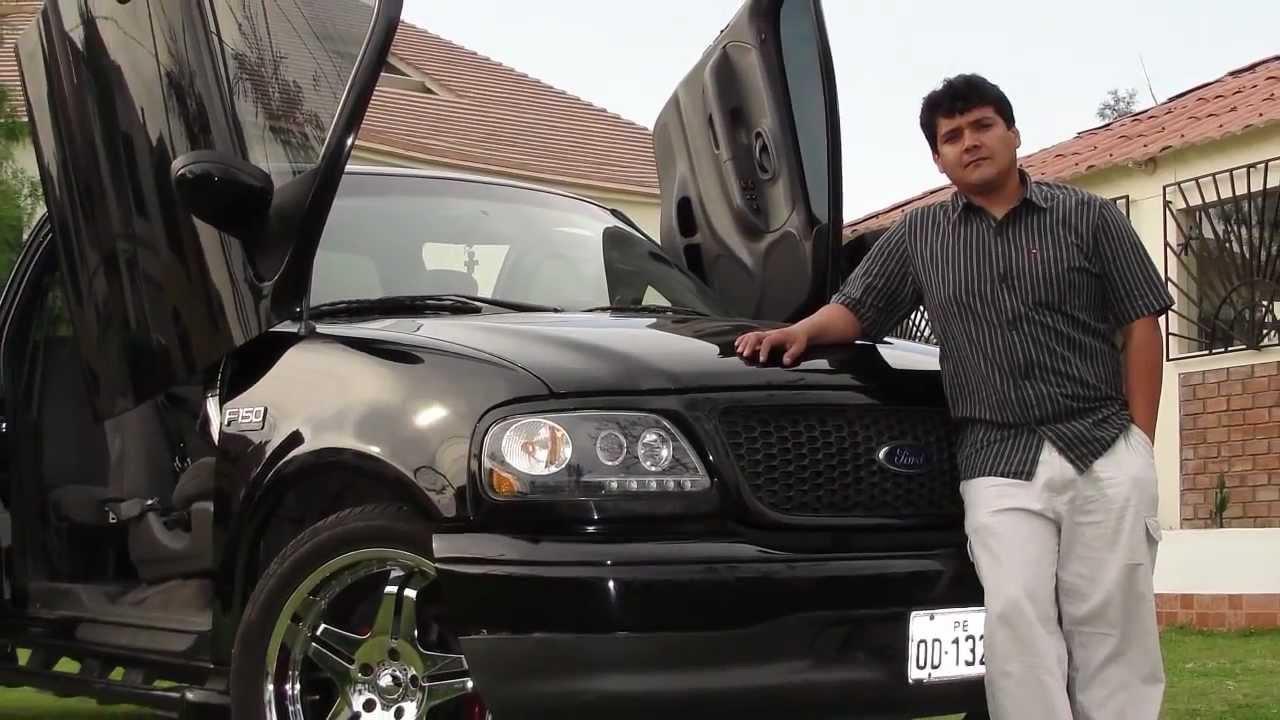 2003 Ford F150 >> FORD F150 SPORT 2003 LAMBO DOORS Facebook.com/japantuningsudamerica - YouTube