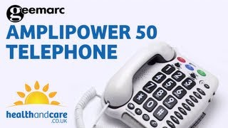 Geemarc Amplipower 50 Amplified Telephone