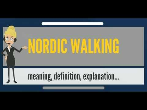 What Is Nordic Walking What Does Nordic Walking Mean Nordic