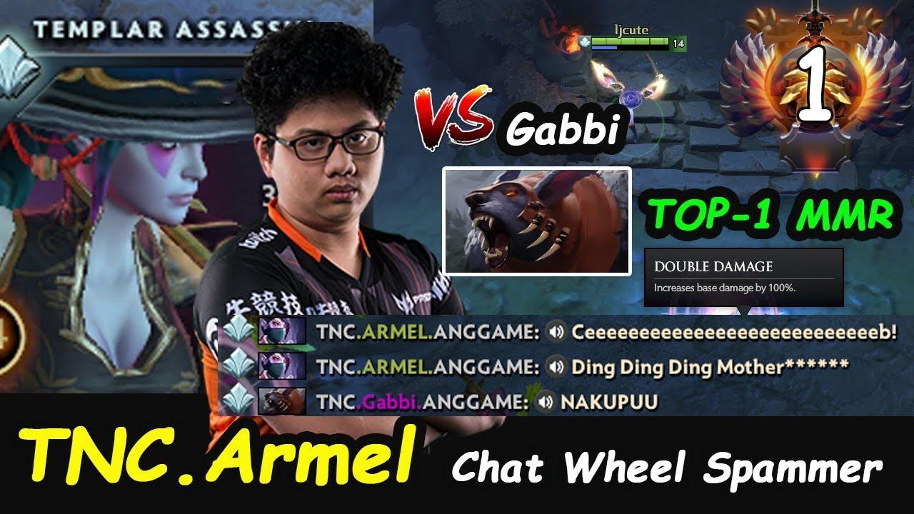 TNC Armel - [Templar Assassin] Top1 MMR Insane Damage vs Gabbi Ti9 Chat  wheel Spam Dota 2 7 21d