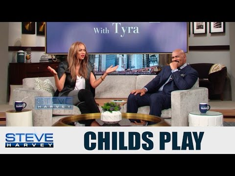 Tyra dishes on Drake Video || STEVE HARVEY