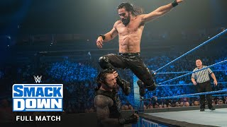 FULL MATCH - Roman Reigns vs. Seth Rollins: SmackDown, October 11, 2019