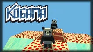 Jogando Kogama - Pandas Gordos