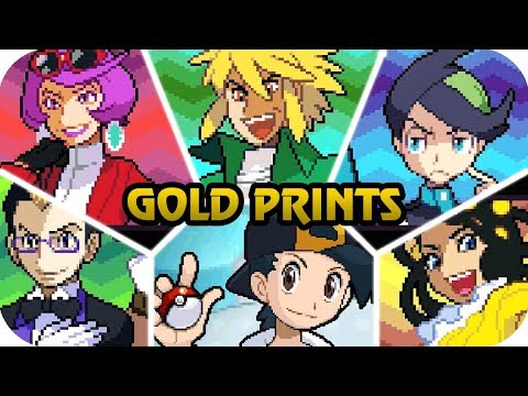 Pokémon HeartGold & SoulSilver - All Super Frontier Brains Battles (1080p60)