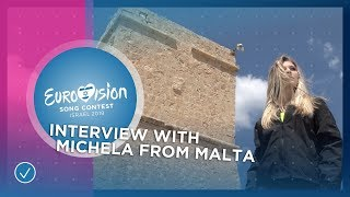 Michela from Malta is ready for Tel Aviv! - Eurovision 2019