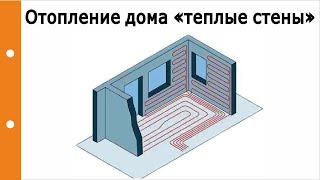 Отопление Дома «тёплые стены». Экономичность, влияния на здоровье человека, микроклимат в доме?