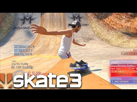 Skate 3 - HOW TO DO GOOD ON MEGA-PARK WITH 1 TRICK