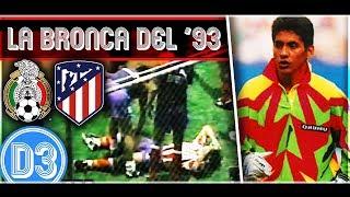 ¡A LOS GOLPES! | Jorge Campos, Piojo Herrera y Zague vs Luis García y el ATLÉTICO DE MADRID ★ D3D2