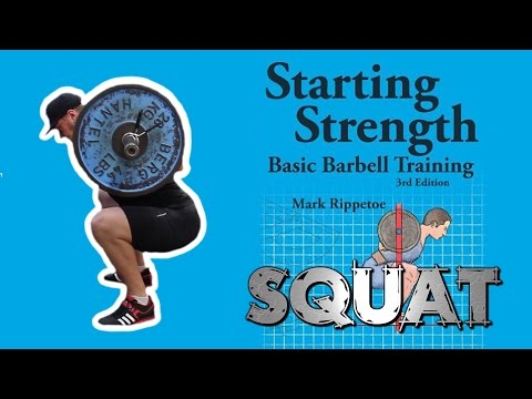 "LOW BAR SQUAT - TUTORIAL | orientiert an Mark Rippetoes ""Starting Strength"" thumbnail"