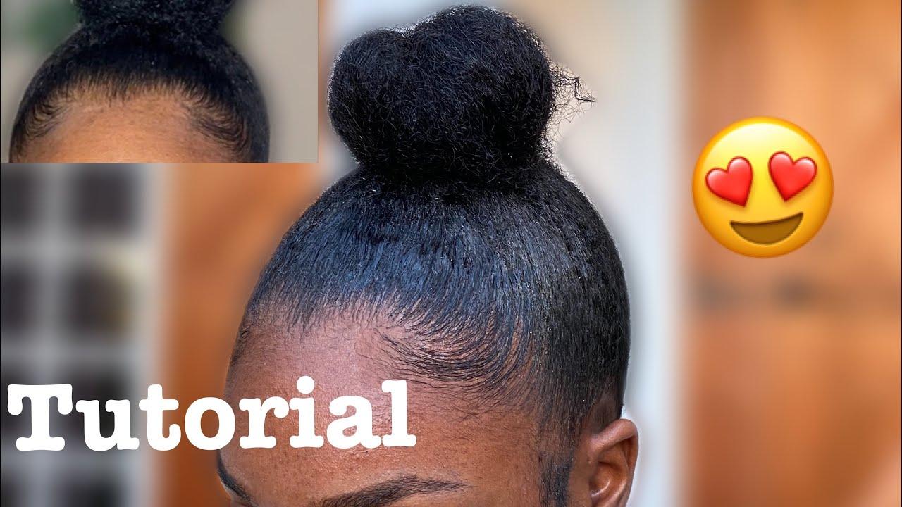TUTO | COMMENT FAIRE UN CHIGNON SUR CHEVEUX CREPUS / HOW TO : EASY BUN ON NATURAL HAIR 😍 ! - YouTube