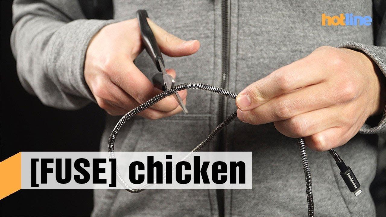 Fuse Chicken — обзор защищенных кабелей для смартфонов