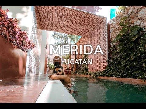 Que hacer y donde dormir en Mérida    Yucatan #1