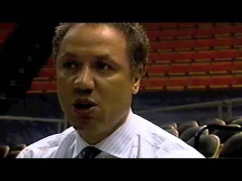 Ron Harper Interview for Miami University TV - 1989