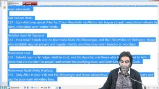 25.11.2013 Maide Suresi 55 - 6 Halis Aydemir