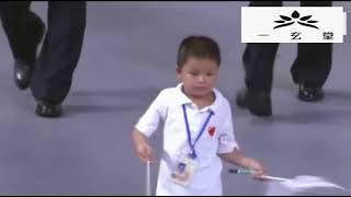 北京奥运会中国队入场仪式,十年再看,依旧激动不已,壮哉大中华