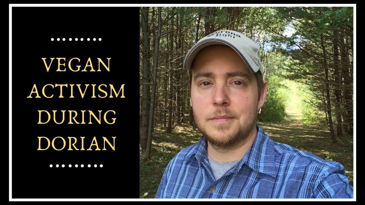 Vegan Activism During a Hurricane!