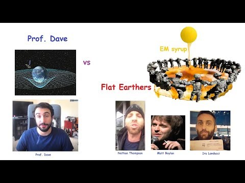 Professor Dave vs the Flat Earthers thumbnail