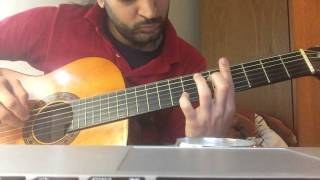 laree choote unplugged guitar cover