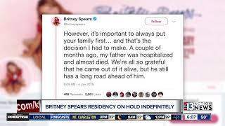Britney Spears Cancels Las Vegas Residency, Future Uncertain