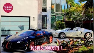 元世界チャンピオンボクサーのメイウェザー、愛車のブガッティは2台で6億円超え!