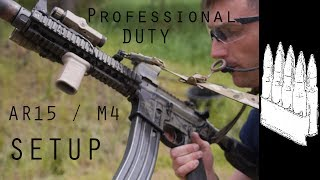 One of Garand Thumb's most viewed videos: Basic AR15 / M4 Duty and Professional use setup