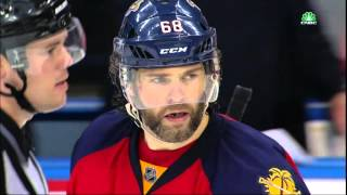 Gotta See It: Jagr nails Clutterbuck with hit to the head