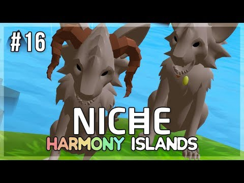 A Crown for Bearyenas! | Niche Let's Play • Harmony Islands - Episode 16