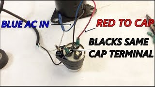 AC compressor wiring diagram NOW no yapping - YouTube   Hvac Wiring Diagram For Cap      YouTube