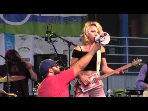 Samantha Fish Band at the Greeley Blues Festival  6/10/17  Crow Jane