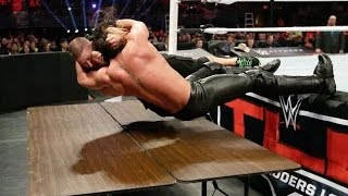 John Cena vs Seth Rollins | Tables Match | Highlights HD