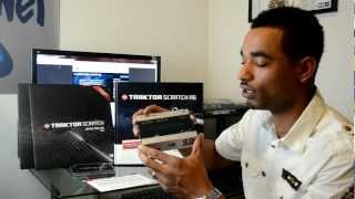 Native Instruments Traktor Scratch A6 Digital Vinyl System Review Video
