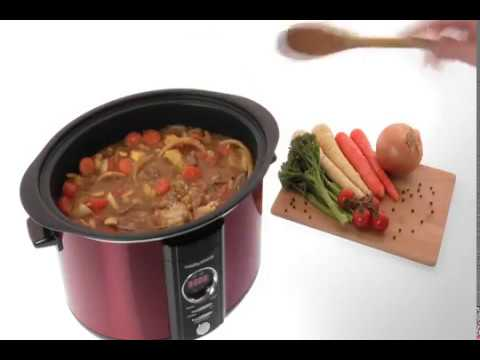 Morphy Richards Accents Digital Slow Cooker 3.5L 460005 Red Slowcooker