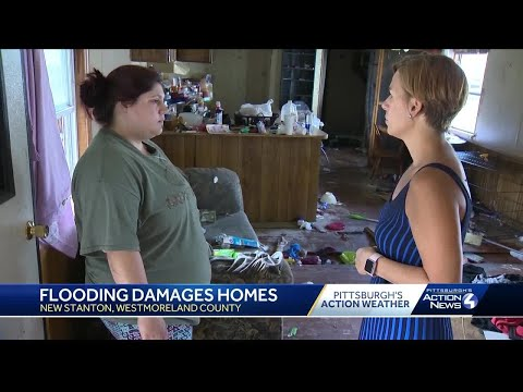 New Stanton family loses home in devastating flood from several inches of rain