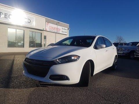 Bright White 2017 Dodge Dart Gt Courtesy Chrysler