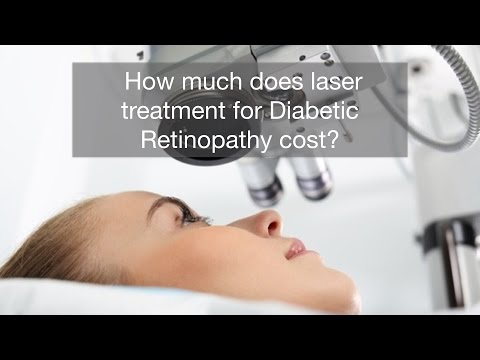How much does laser treatment for Diabetic Retinopathy cost? HD