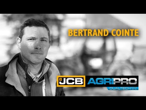 JCB AGRI Pro Loadall Mixed Farming - France