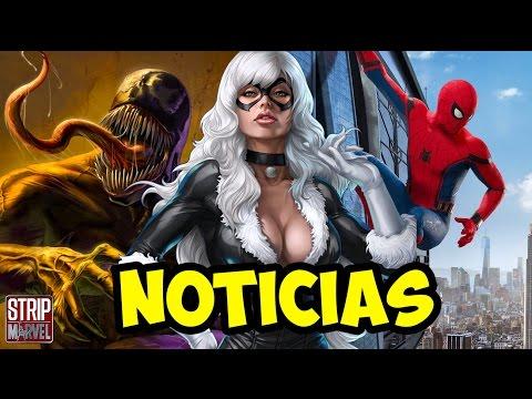 Noticias - Peli de VENOM Y BLACK CAT, BRAD PITT como CABLE, GUARDIANES 3 y mucho más   Strip Marvel