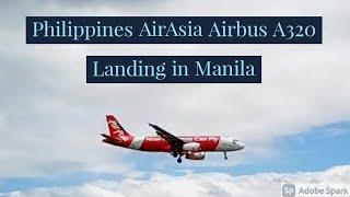 Video PH AirAsia A320 landing in Manila download MP3, 3GP, MP4, WEBM, AVI, FLV Juni 2018